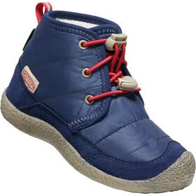 Keen Howser II Chukka WP Shoes Kids, blauw